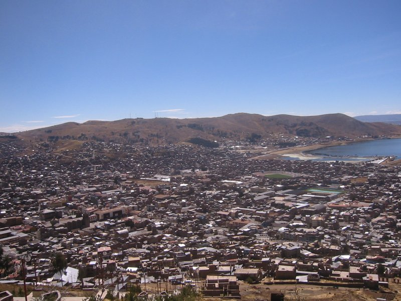 View of Puno from the Hill