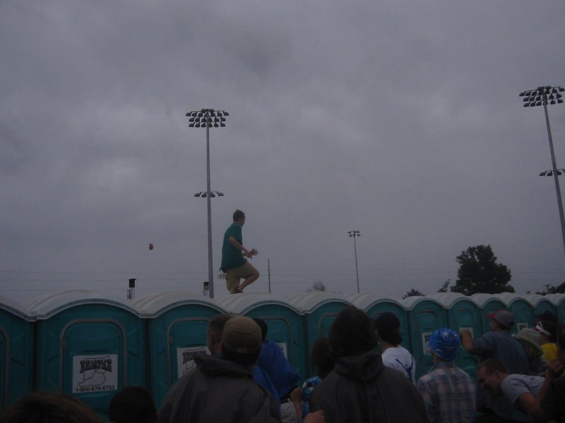 Running of the Porto Potties