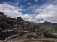 The main temple in Yushu