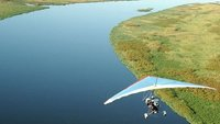 Airborne over the Zambezi