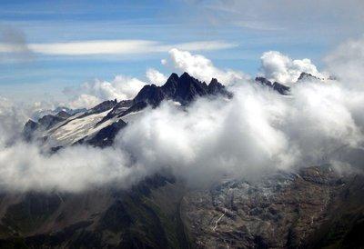 Aiguille du Tour from Mont Buet
