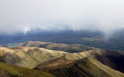 East from Blencathra