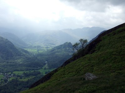 Borrowdale and Castle Crag