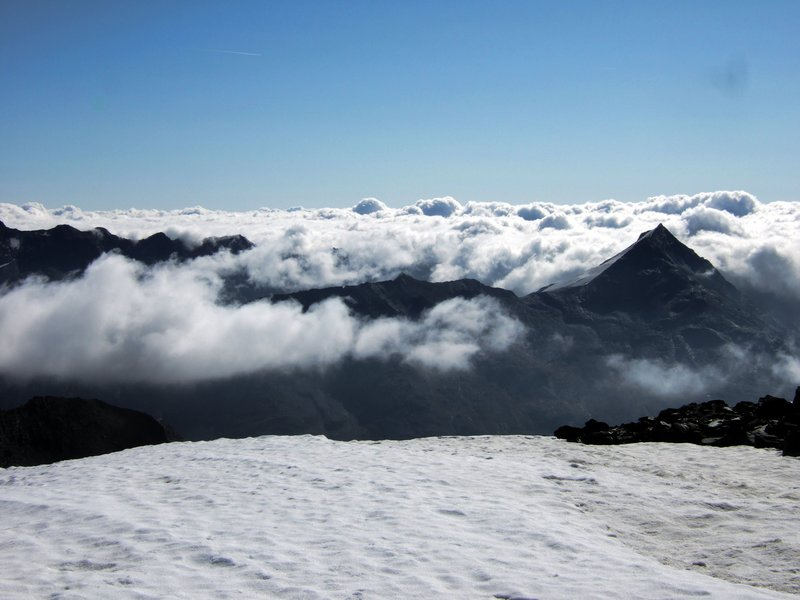 Allalinhorn Cloud Sea