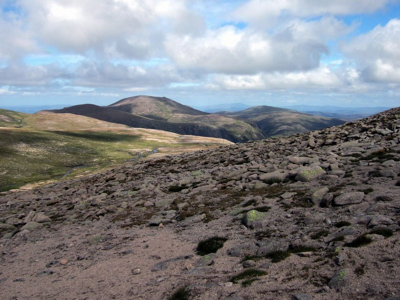 Cairngorm from Ben Macdui