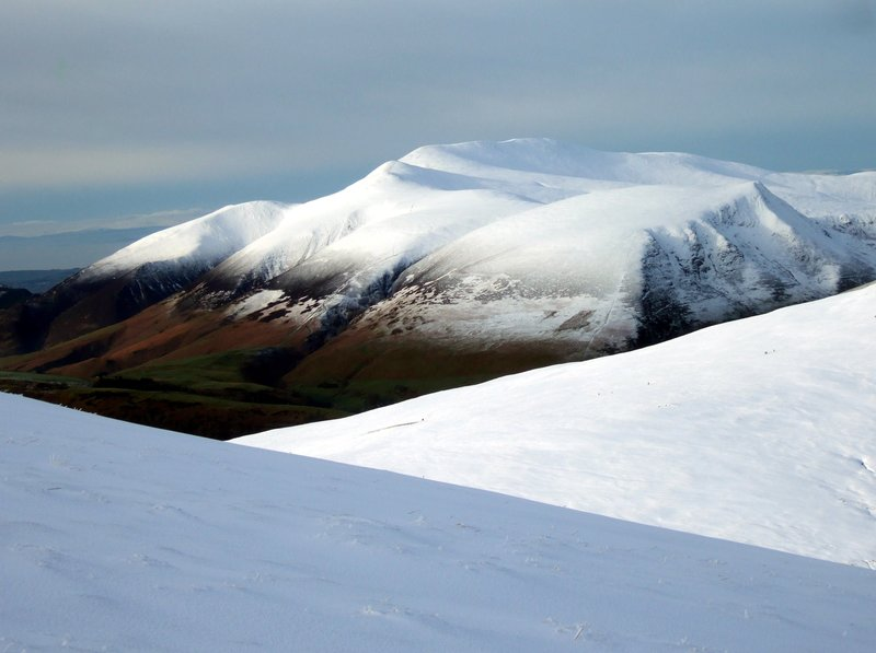 Skiddaw from Great Dodd