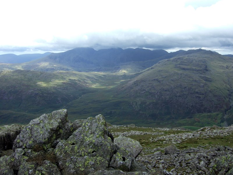 The Scafell Range from Grey Friar