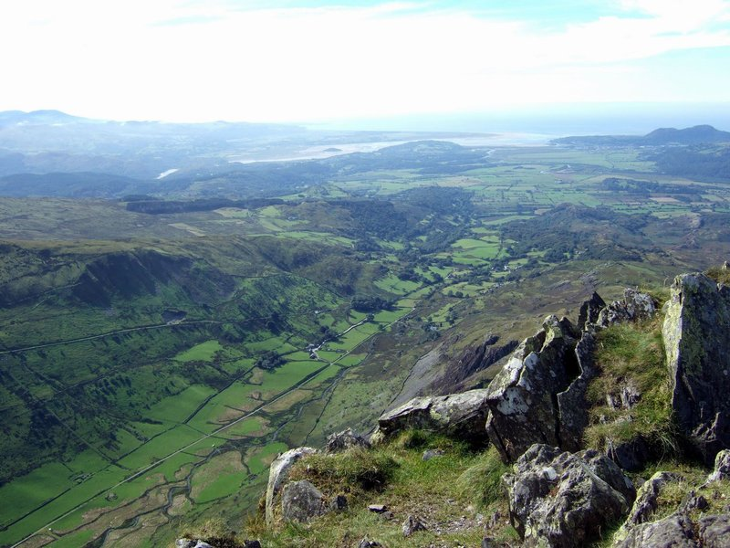 Cnicht Summit View