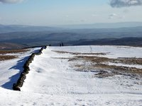 Kentmere Pike in Winter
