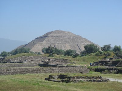 The Pyramid of Teotihuacan