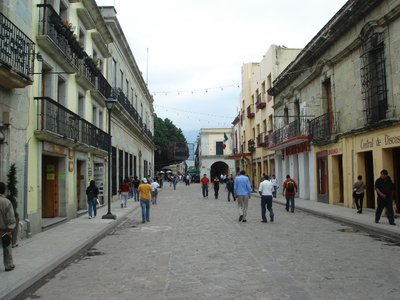The Main Street Oaxaca