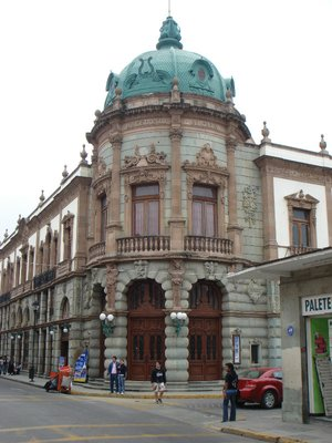 The Historic Teatro Macedonio Alcala