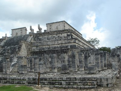 The Great Ball Court -Chichen-Itza