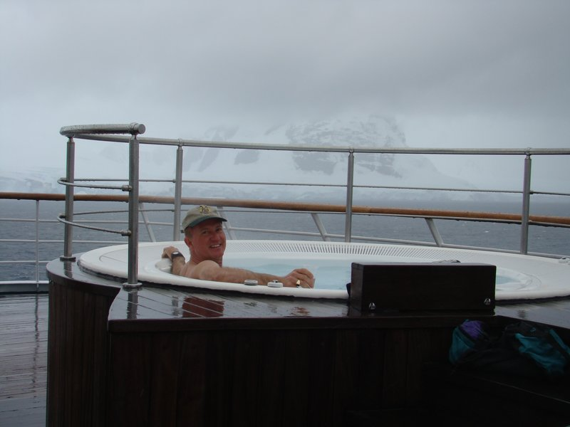 Hot Tubing in the Antarctic
