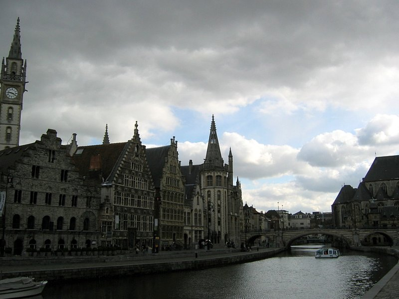Gent old town
