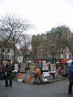 Montmartre square