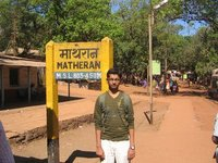 Matheran Railway station, India