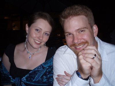 Jen & Dan at Jen's Birthday Dinner