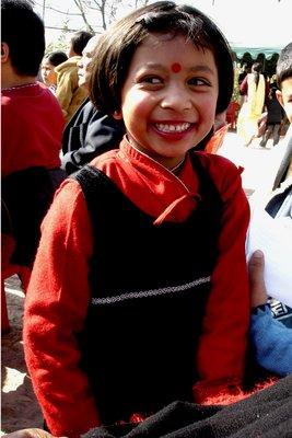 Girl in Red Tika