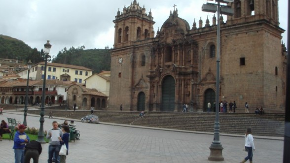 Plaza De Armas- Church
