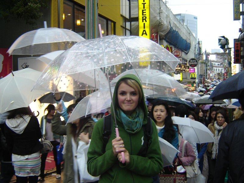 Rainy Harajuku, Tokyo