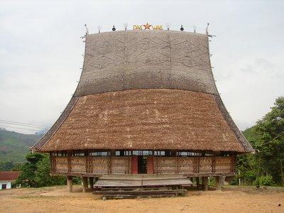 Bahnar-style communal house