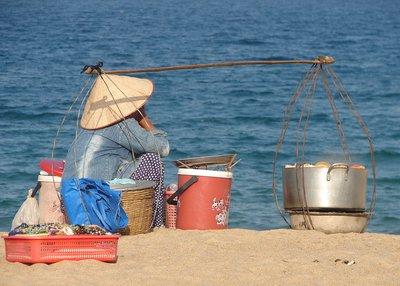 Seafood vendor, Nha Trang