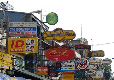 Khao San Road by day 1