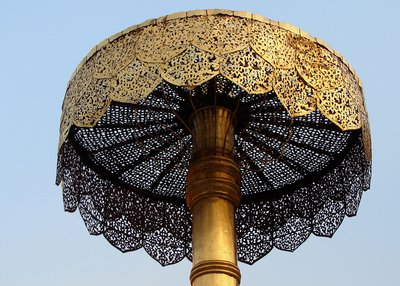Umbrella at Wat Doi Suthep