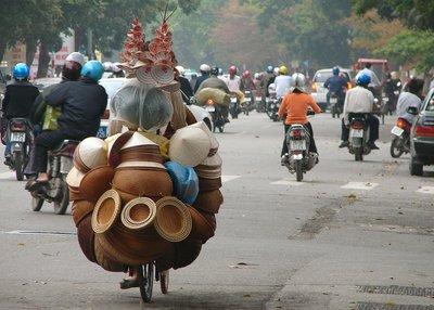 Hat vendor, Hanoi