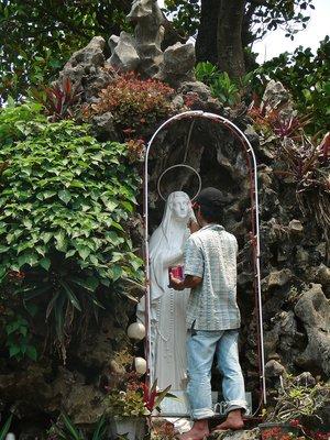 Retouching the Virgin