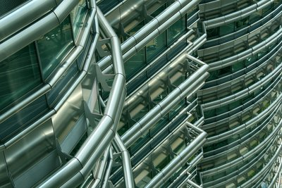 Petronas Towers, detail 2