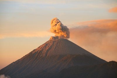 Mount Semeru at sunrise