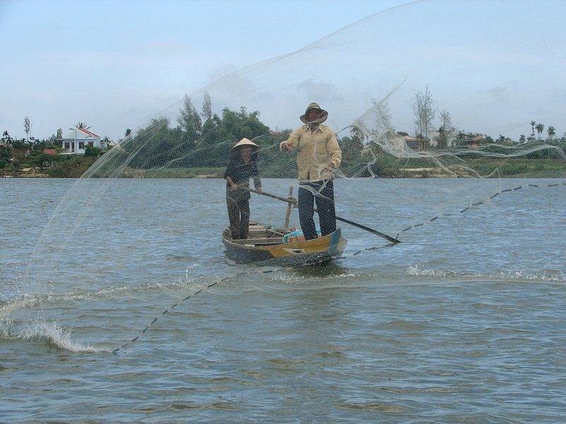 Fisherman at Hội An