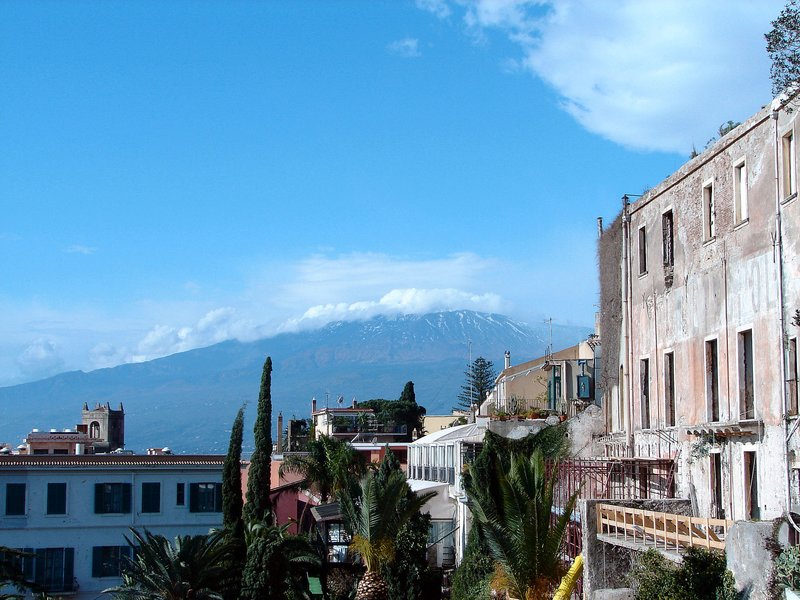 Etna from Taormina