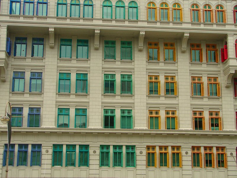 Windows on North Bridge Road