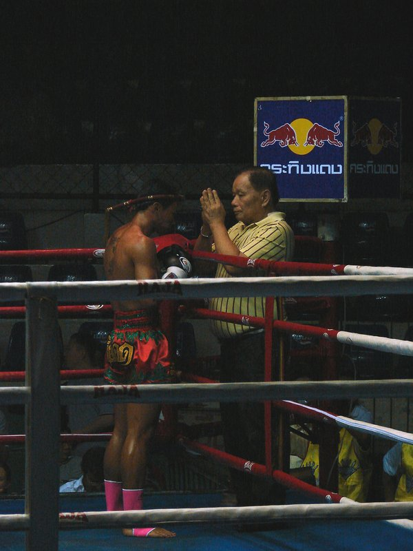 Blessing before the bout