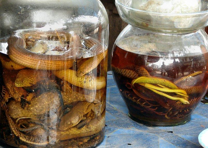 Snake whisky
