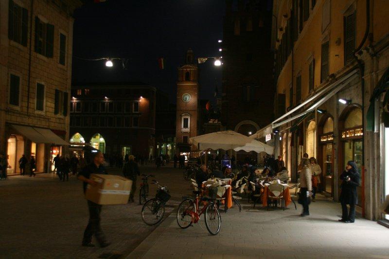 Cathedral square, Ferrara
