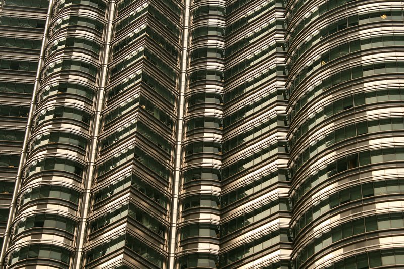Petronas Towers, detail