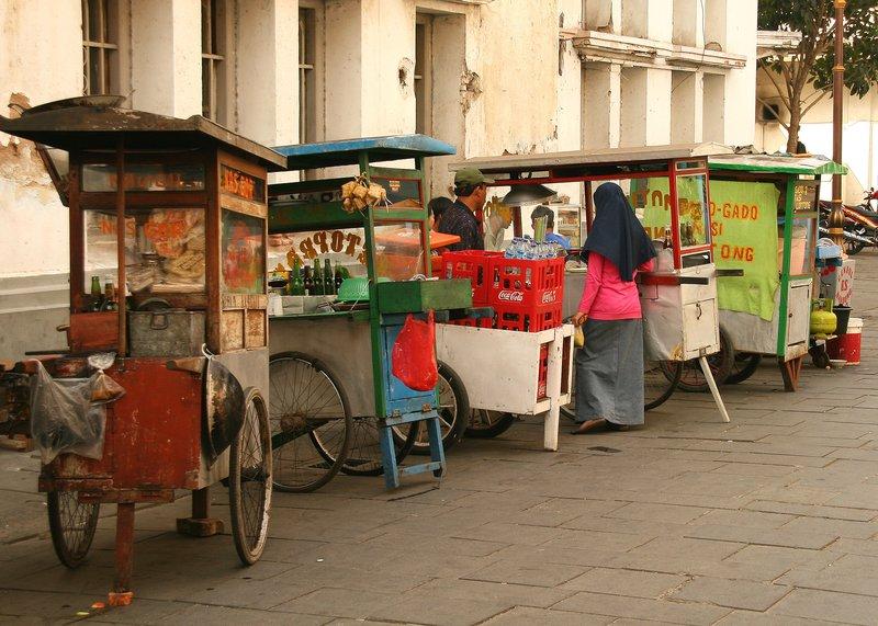 Food stalls in Kota