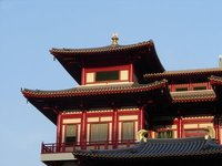 Temple with a Buddha's tooth relic