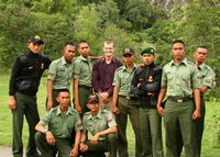 Me and the Indonesian army