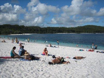 Fraser Island: Lake McKenzie