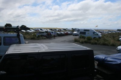 Carpark at 12 Apostles