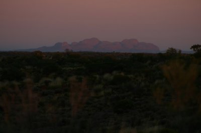 The Olgas Sunrise