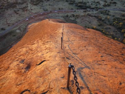 Ayers Rock Climb