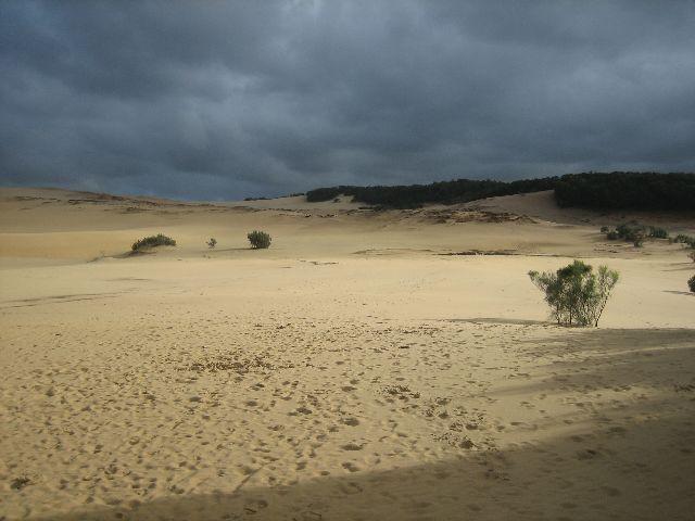 Fraser Island: Rain approaching