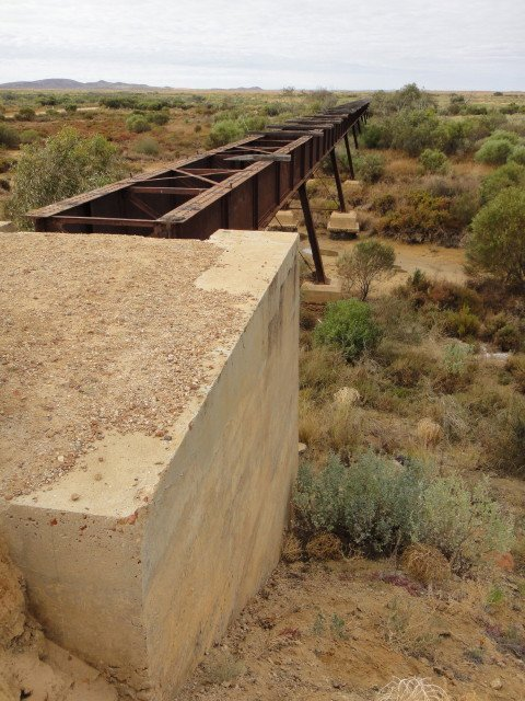 Ghan Railway bridge