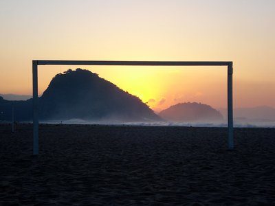 Sunrise - Copacabana Beach - Rio